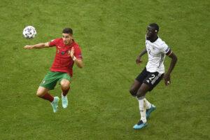 Portugal vs Alemanha. Foto Gestifute Media / Jorge Monteiro